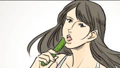 「食べる女性」篇